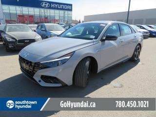 New 2021 Hyundai Elantra N - Line - 1.6T/Sport Seats/Sunroof/Wireless Charging/Paddle Shifters/Bose Prem Sound/Wireless Apple Carplay for sale in Edmonton, AB