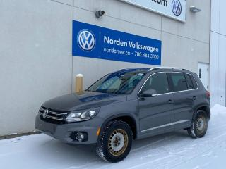 Used 2017 Volkswagen Tiguan HIGHLINE R-LINE - VW CERTIFIED - LOW KMS! for sale in Edmonton, AB