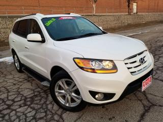 Used 2010 Hyundai Santa Fe LIMITED,LEATHER,SUNROOF,ALLOY WHEELS,CERTIFIED for sale in Mississauga, ON