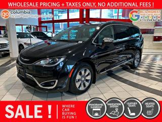 Used 2018 Chrysler Pacifica Hybrid Hybrid Limited - No Accident / Local / Nav / DvD for sale in Richmond, BC