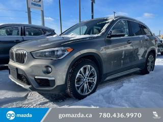 Used 2017 BMW X1 X28i - BACK UP CAM, LEATHER, SUNROOF, SPORTY YET LUXURIOUS for sale in Edmonton, AB