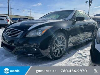 Used 2011 Infiniti G37 Coupe IPL - RARE, RWD, LEATHER, SUNROOF, A CAR ENTHUSIASTS DREAM! for sale in Edmonton, AB