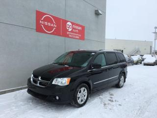 Used 2017 Dodge Grand Caravan Crew Plus Rear DVD / Power Side Doors / Captain Chairs / Sto-n-Go for sale in Edmonton, AB