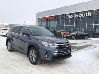 Used 2019 Toyota Highlander LIMITED, 4X4, 4WD, LEATHER, NAVIGATION for sale in Edmonton, AB
