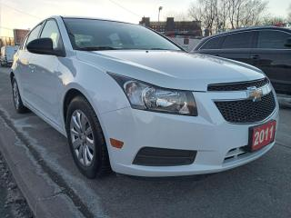 Used 2011 Chevrolet Cruze LS+ w/1SB-1.8L- 126K-EXTRA CLEAN-AUX-GAS SAVER for sale in Scarborough, ON