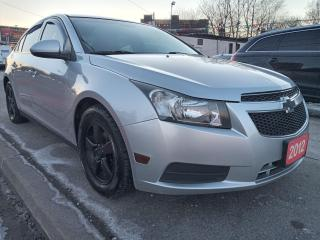 Used 2012 Chevrolet Cruze LT Turbo-EXTRA CLEAN-TINT-BLUETOOTH-AUX-USB-ALLOYS for sale in Scarborough, ON