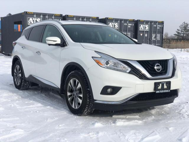 2017 Nissan Murano SL|Clean Carfax|Heated seats-steering|