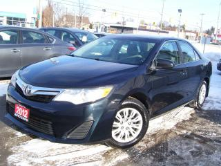 Used 2012 Toyota Camry $250 cash back offer on all our financing program, for sale in Kitchener, ON