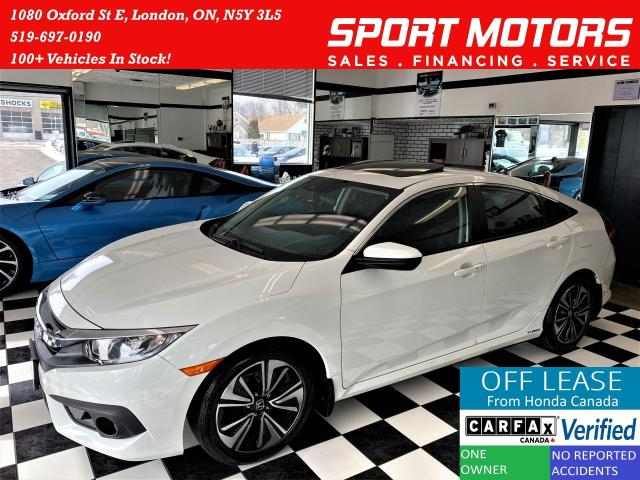 2017 Honda Civic EX-T+Sunroof+Remote Start+ApplePlay+ACCIDENT FREE
