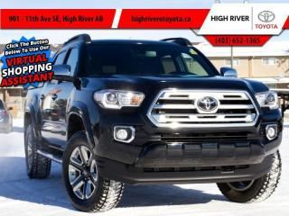 Used 2019 Toyota Tacoma 4X4 Double CAB V6 Auto Limited for sale in High River, AB