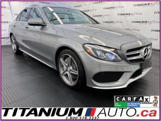 Used 2016 Mercedes-Benz C-Class AMG Sport PKG+Pano Roof+GPS+Camera+Heated Wheel for sale in London, ON