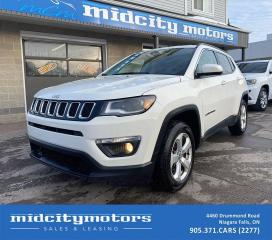 Used 2018 Jeep Compass NORTH 4X4/ BACKUP CAM/ REMOTE START/ CLEAN CARFAX for sale in Niagara Falls, ON