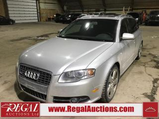 Used 2008 Audi A4 S-LINE 4D Wagon Qtro 2.0T AWD for sale in Calgary, AB