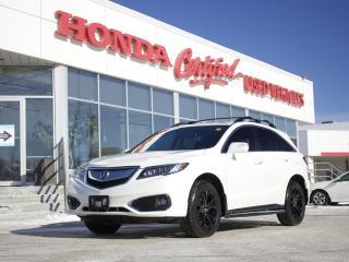 Used 2017 Acura RDX Tech Pkg | NAV| SUNROOF | NEW TIRES for sale in Winnipeg, MB