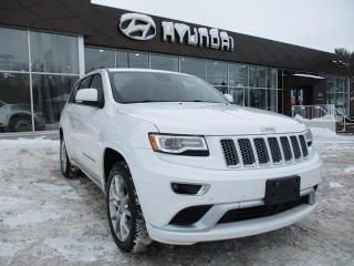 Used 2016 Jeep Grand Cherokee Summit for sale in Ottawa, ON