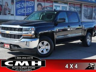 Used 2018 Chevrolet Silverado 1500 LT  4X4 CAM P/SEAT REAR-DEF 17-AL for sale in St. Catharines, ON