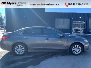 Used 2017 Nissan Altima 2.5 S  - Bluetooth -  Heated Seats for sale in Ottawa, ON