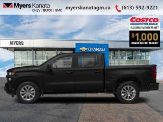 New 2021 Chevrolet Silverado 1500 Custom  - Apple CarPlay for sale in Kanata, ON