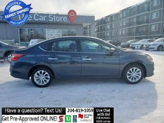 Used 2017 Nissan Sentra SV Navigation SUNROOF RearCAM Htd Seat LOCAL! for sale in Winnipeg, MB
