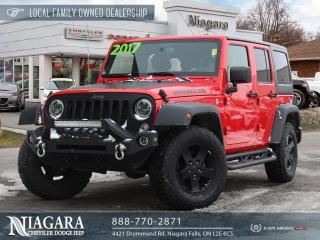 Used 2017 Jeep Wrangler | BIG BEAR EDITION for sale in Niagara Falls, ON
