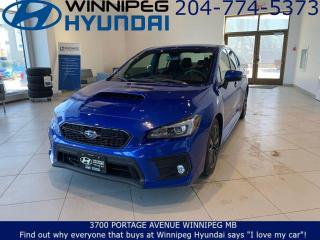 Used 2018 Subaru WRX SPORT for sale in Winnipeg, MB