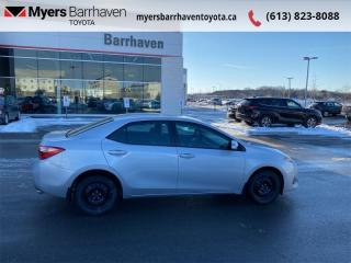 Used 2017 Toyota Corolla LE  - Heated Seats -  Bluetooth - $112 B/W for sale in Ottawa, ON