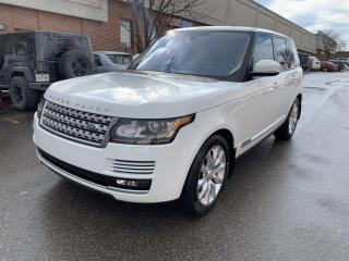 Used 2016 Land Rover Range Rover 4WD 4dr Td6 HSE for sale in North York, ON