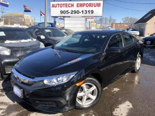 Used 2018 Honda Civic Navigation/Camera/Bluetooth/Alloys for sale in Mississauga, ON