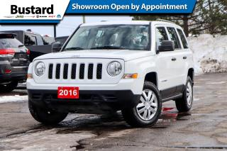 Used 2016 Jeep Patriot 4WD 4dr Sport | 4x4 | Low Km | Clean Carfax! for sale in Waterloo, ON