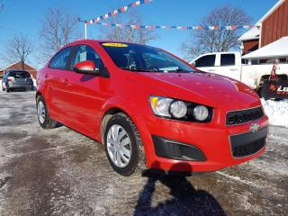 Used 2012 Chevrolet Sonic 2LS for sale in Dunnville, ON