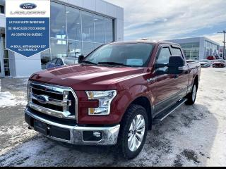 Used 2016 Ford F-150 Cab SuperCrew 4RM 157 po XLT for sale in Victoriaville, QC