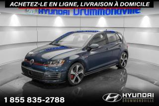 Used 2016 Volkswagen Golf GTI PERFORMANCE + GARANTIE + 29 508 KM + WOW for sale in Drummondville, QC