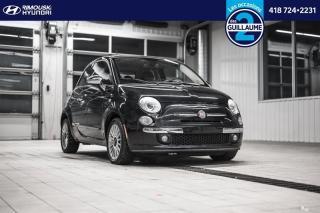 Used 2012 Fiat 500 Lounge chez Rimouski Hyundai for sale in Rimouski, QC