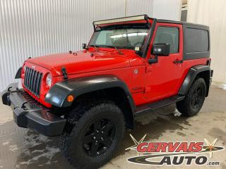Used 2016 Jeep Wrangler Sport 4X4 A/C MAGS *Deux Toits* *Automatique * for sale in Shawinigan, QC