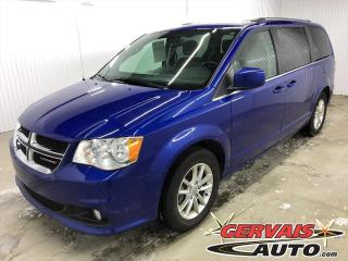 Used 2019 Dodge Grand Caravan SXT Premium Plus Cuir/Suède Bluetooth Caméra Mags *Stow N Go 7 Passagers* for sale in Shawinigan, QC
