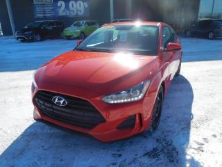 Used 2019 Hyundai Veloster 2.0,GL,AUTO,CAM,BANCS/VOL CHAUFF,CRUISE,BLUET. for sale in Mirabel, QC