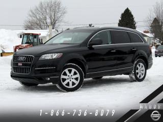 Used 2012 Audi Q7 PREMIUM PLUS + 7 PLACES + TOIT PANO! for sale in Magog, QC