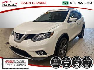 Used 2016 Nissan Rogue SL* AWD* GPS* TOIT PANO* CUIR* CAMERA* for sale in Québec, QC