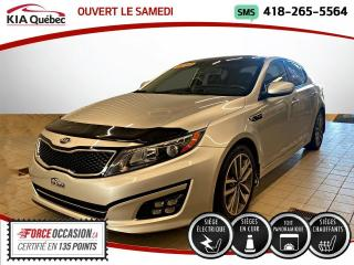 Used 2015 Kia Optima SX* TURBO* GPS* TOIT PANO* SIEGES VENTIL for sale in Québec, QC