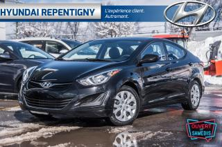 Used 2016 Hyundai Elantra 4dr Sdn Auto GL* SIEGES ET MIROIRS CHAUFFANT, BLUE for sale in Repentigny, QC