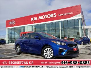Used 2019 Kia Forte LX | 1 OWNR | CLN CARFX | B/U CAM | B/TOOTH | 28 K for sale in Georgetown, ON
