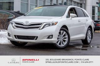 Used 2016 Toyota Venza LIMITED **NAVIGATION**CAMERA RECUL**CUIR**TOIT PANORAMIQUE**SIEGE CHAUFFANT**AIDE STATIONEMENT** for sale in Montréal, QC