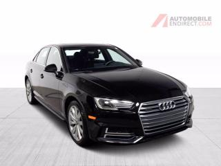 Used 2018 Audi A4 KOMFORT QUATTRO CUIR TOIT MAGS GROS ECRAN for sale in Île-Perrot, QC