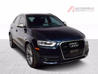 Used 2015 Audi Q3 PROGRESSIV QUATTRO CUIR TOIT OUVRANT MAGS AIR CLIM for sale in Île-Perrot, QC