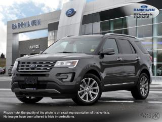 Used 2017 Ford Explorer LIMITED for sale in Ottawa, ON