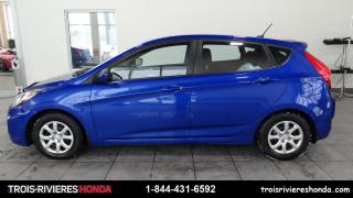 Used 2014 Hyundai Accent GL + BLUETOOTH + DEMARREUR + MAGS ! for sale in Trois-Rivières, QC