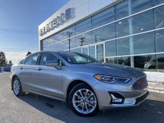 Used 2020 Ford Fusion Energi Titanium for sale in St-Eustache, QC