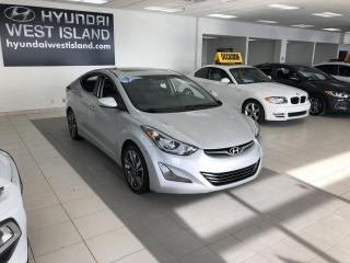 Used 2016 Hyundai Elantra LIMITED AUTO TOIT MAGS CUIR NAV BT CRUIS for sale in Dorval, QC