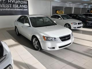 Used 2008 Hyundai Sonata GLS AUTO CUIR TOIT MAGS A/C CRUISE GROUP for sale in Dorval, QC