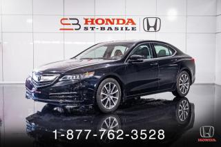 Used 2017 Acura TLX TECH + V6 + AWD + NAVI + CUIR + TOIT + W for sale in St-Basile-le-Grand, QC